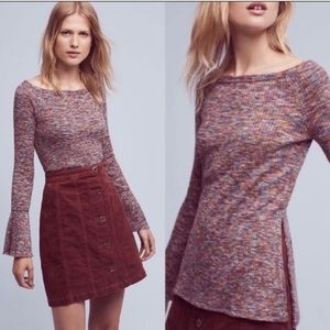 Anthropologie Akemi + Kin Zaka tunic off shoulder